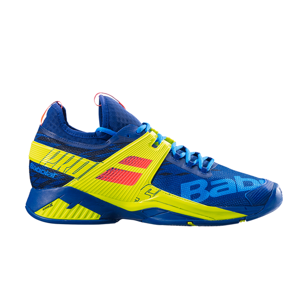 Babolat Propulse Rage All Court (Men's) - Blue/Yellow-Footwear- Canada Online Tennis Store Shop