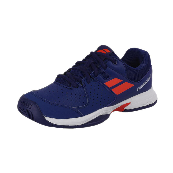 Babolat Pulsion All Court (Junior) - Estate Blue/Orange-Footwear- Canada Online Tennis Store Shop