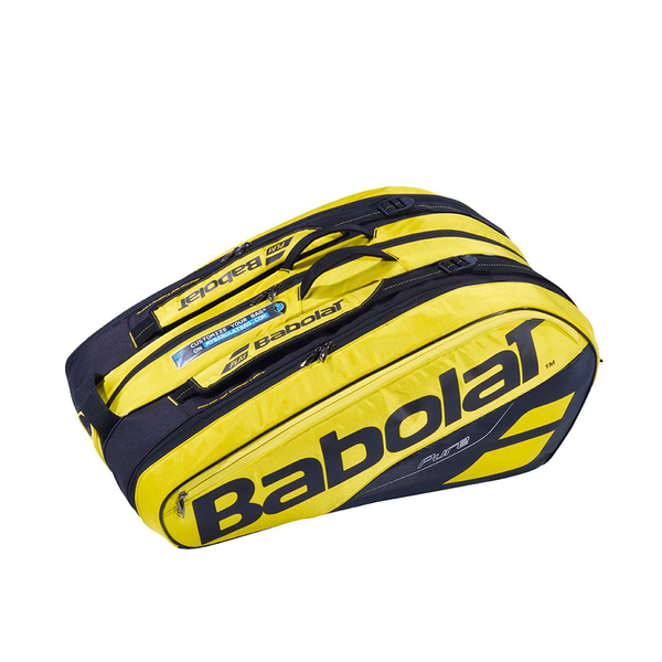 Babolat Pure Aero 12-Pack Back - Yellow/Black-Bags- Canada Online Tennis Store Shop