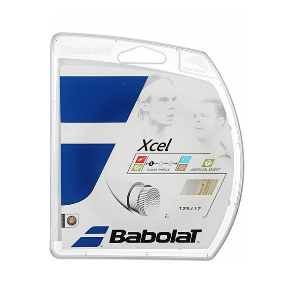 Babolat Xcel 17 Pack - Natural-Tennis Strings- Canada Online Tennis Store Shop