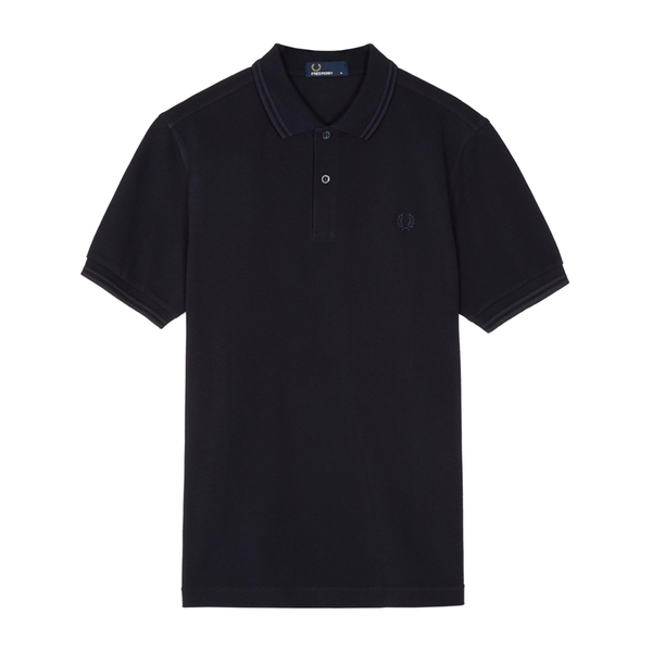 Fred Perry M3600 Polo Shirt (Men's) - Navy/Navy-Tops- Canada Online Tennis Store Shop