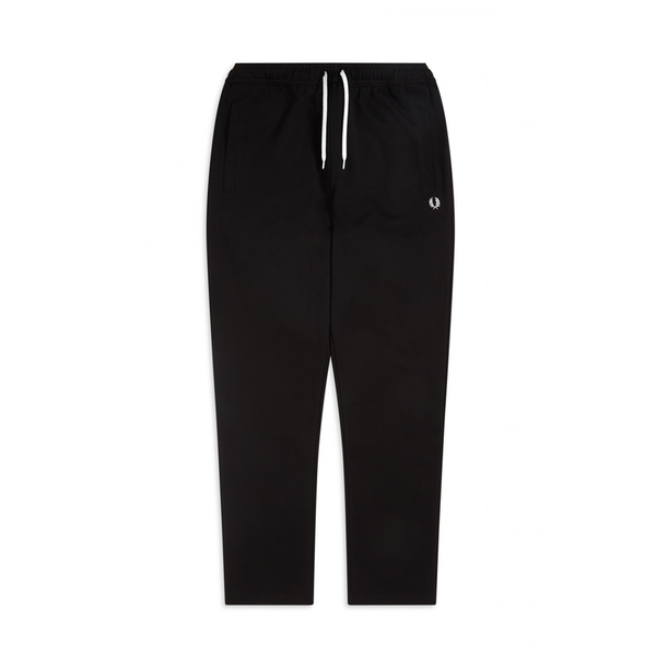 Fred Perry Reverse Tricot Track Pant (Men's) - Black-Bottoms- Canada Online Tennis Store Shop
