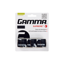 Gamma Supreme Overgrips (3-Pack) - Black-Grips- Canada Online Tennis Store Shop