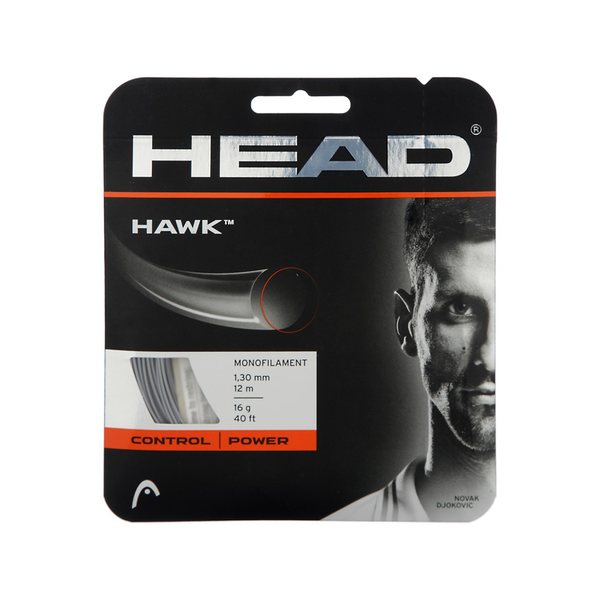 Head Hawk 16 Pack - Anthracite Grey-Tennis Strings- Canada Online Tennis Store Shop