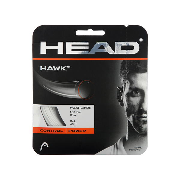 Head Hawk 16 Pack - White-Tennis Strings- Canada Online Tennis Store Shop