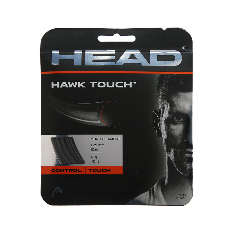 Head Hawk Touch 17 Pack - Anthracite Grey-Tennis Strings- Canada Online Tennis Store Shop