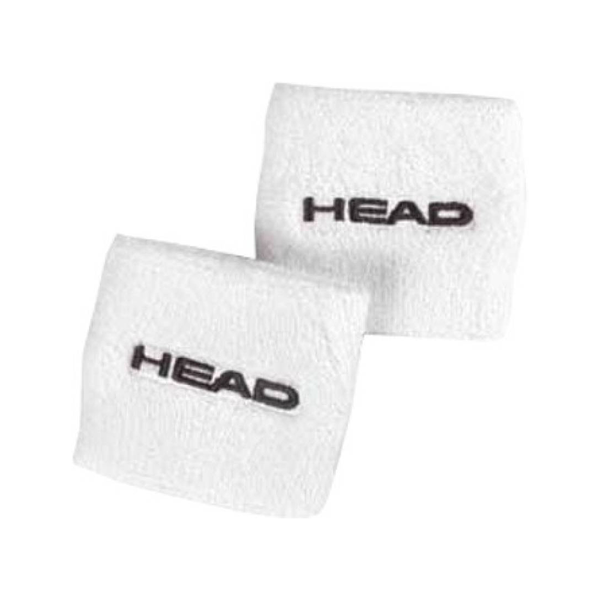 Head Singlewide Wristband - White-Wristbands- Canada Online Tennis Store Shop