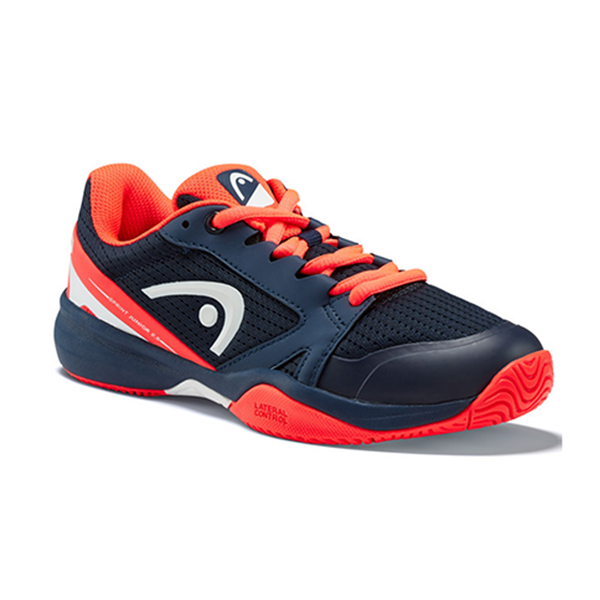 Head Sprint 2.5 (Junior) - Dark Blue/Red-Footwear- Canada Online Tennis Store Shop