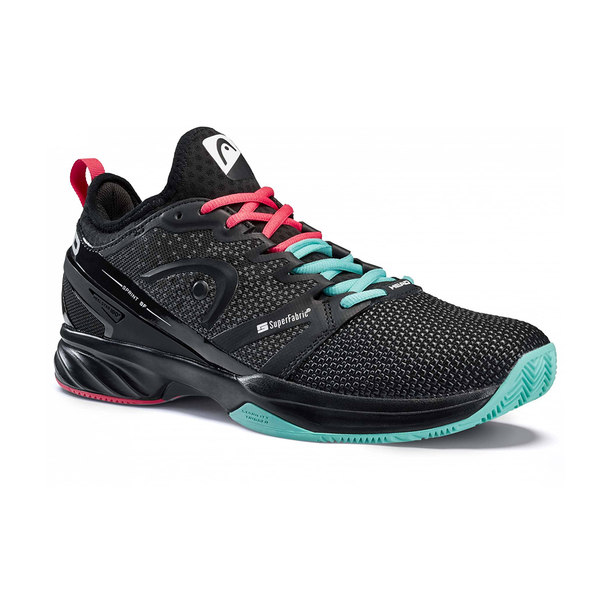 Head Sprint SF Gravity (Men's) - Black/Teal/Red-Footwear- Canada Online Tennis Store Shop