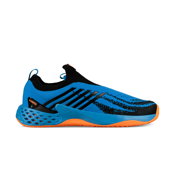 K-Swiss Aero Knit (Men's) - Brilliant Blue/Neon Orange-Footwear- Canada Online Tennis Store Shop