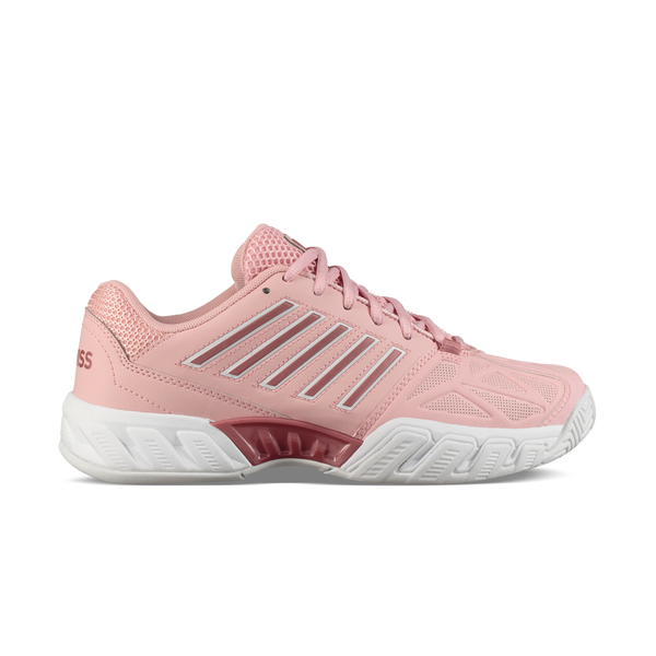 K-Swiss Bigshot Light 3 (Women's) - Coral Blush/White-Footwear- Canada Online Tennis Store Shop