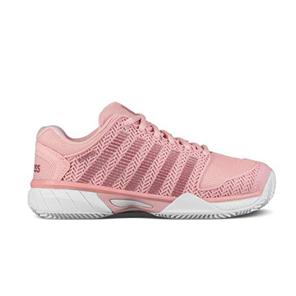 K-Swiss Kid's Hypercourt Express (Junior) - Coral Blush/White-Footwear- Canada Online Tennis Store Shop