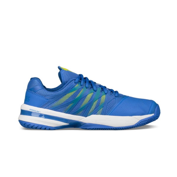 K-Swiss Ultrashot (Men's) - Strong Blue/Neon Citron-Footwear- Canada Online Tennis Store Shop