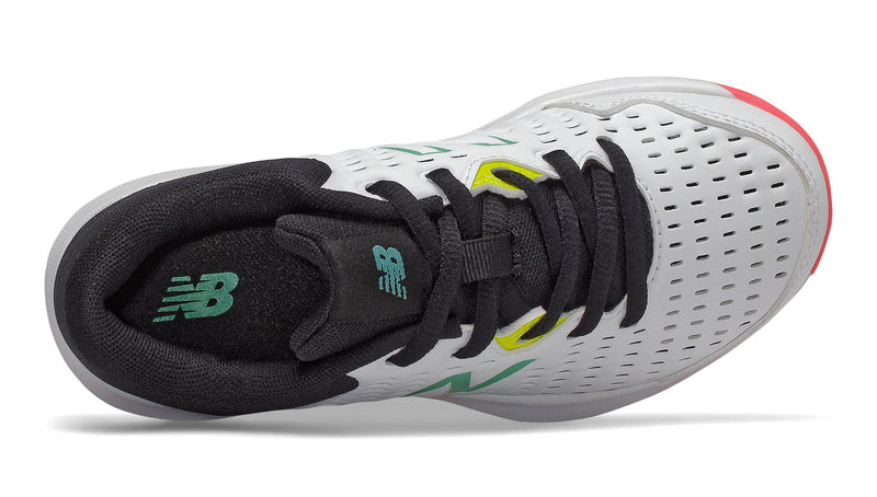 New Balance 696V4 (Junior) - White/Black/Peony