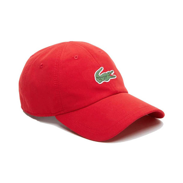 Lacoste Sport Novak Djokovic Microfiber Cap (Men's) - Red-Hats- Canada Online Tennis Store Shop