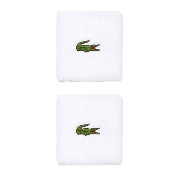 Lacoste Sport Stretch Cotton Tennis Wristband-Wristbands- Canada Online Tennis Store Shop