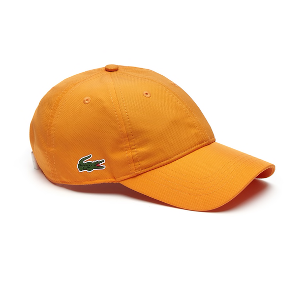 Lacoste Sport Taffeta Cap - Electronic Orange-Hats- Canada Online Tennis Store Shop