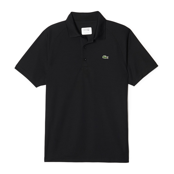 Lacoste Sport Technical Piqué Tennis Polo (Men's) - Black-Tops- Canada Online Tennis Store Shop