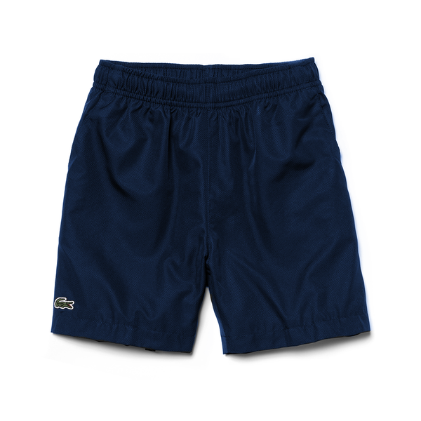 Lacoste Sport Tennis Short (Boy's) - Navy-Bottoms- Canada Online Tennis Store Shop