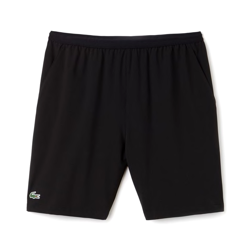 Lacoste Sport Tennis Stretch Shorts (Men's) - Black-Bottoms- Canada Online Tennis Store Shop