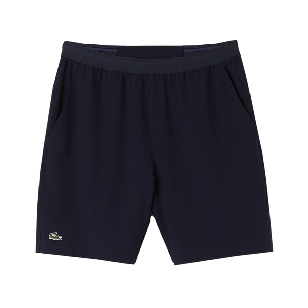 Lacoste Sport Tennis Stretch Shorts (Men's) - Navy Blue-Bottoms- Canada Online Tennis Store Shop