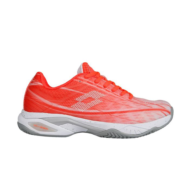 Lotto Mirage 300 (Women's) - Fiery Coral/White-Footwear- Canada Online Tennis Store Shop