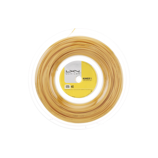 Luxilon 4G 125 Reel (200m) - Gold-Tennis Strings- Canada Online Tennis Store Shop