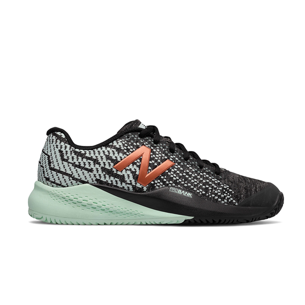 New Balance 996V3 B Tournament Clay (Women's) - Black/Seafoam-Footwear- Canada Online Tennis Store Shop