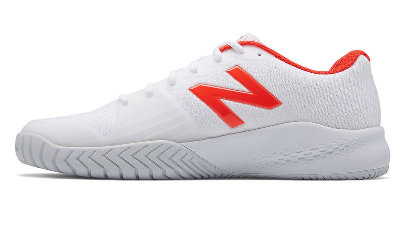 New Balance 996V3 B (Women's) - White/Flame-Footwear- Canada Online Tennis Store Shop