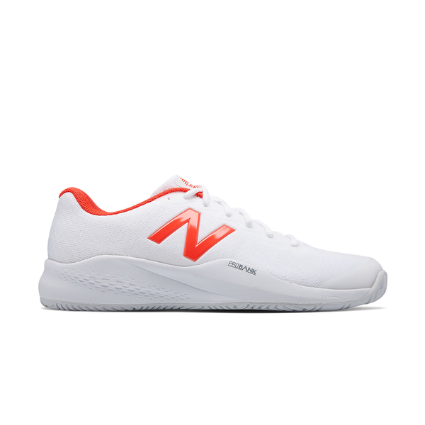 New Balance 996V3 D (Men's) - White/Flame-Footwear- Canada Online Tennis Store Shop