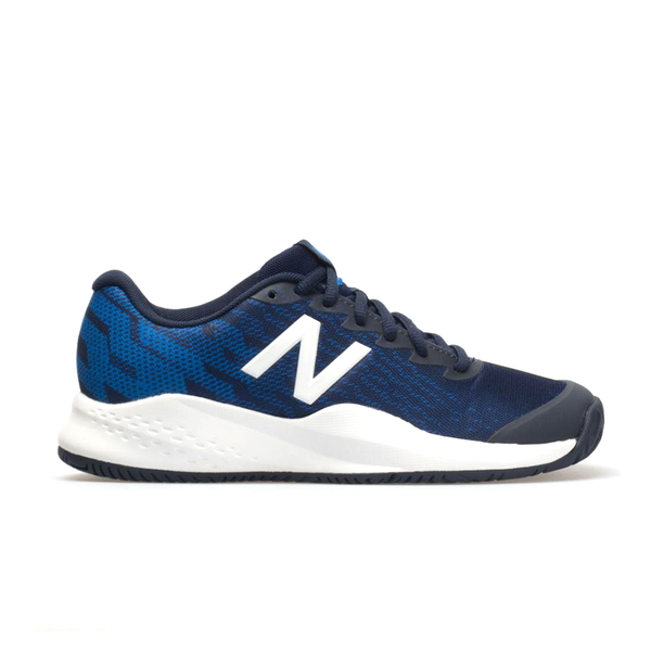 New Balance 996V3 (Junior) - Blue/Navy Blue-Footwear- Canada Online Tennis Store Shop