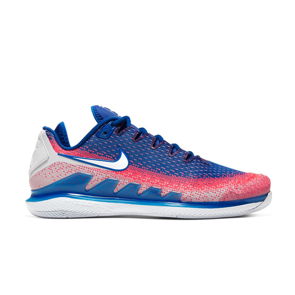 Nike Air Zoom Vapor X Knit (Men's) - Game Royal/Flash Crimson/White-Footwear-online tennis store canada