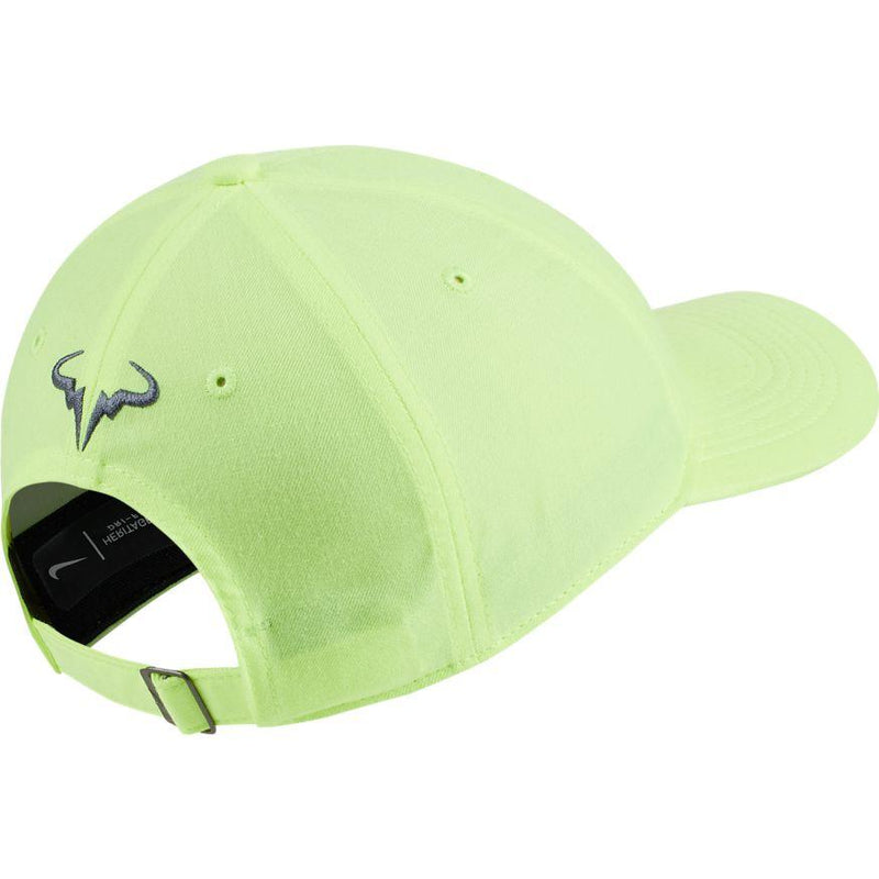 Nike AeroBill Heritage86 Rafa Hat - Volt Glow/Light Carbon-Hats- Canada Online Tennis Store Shop