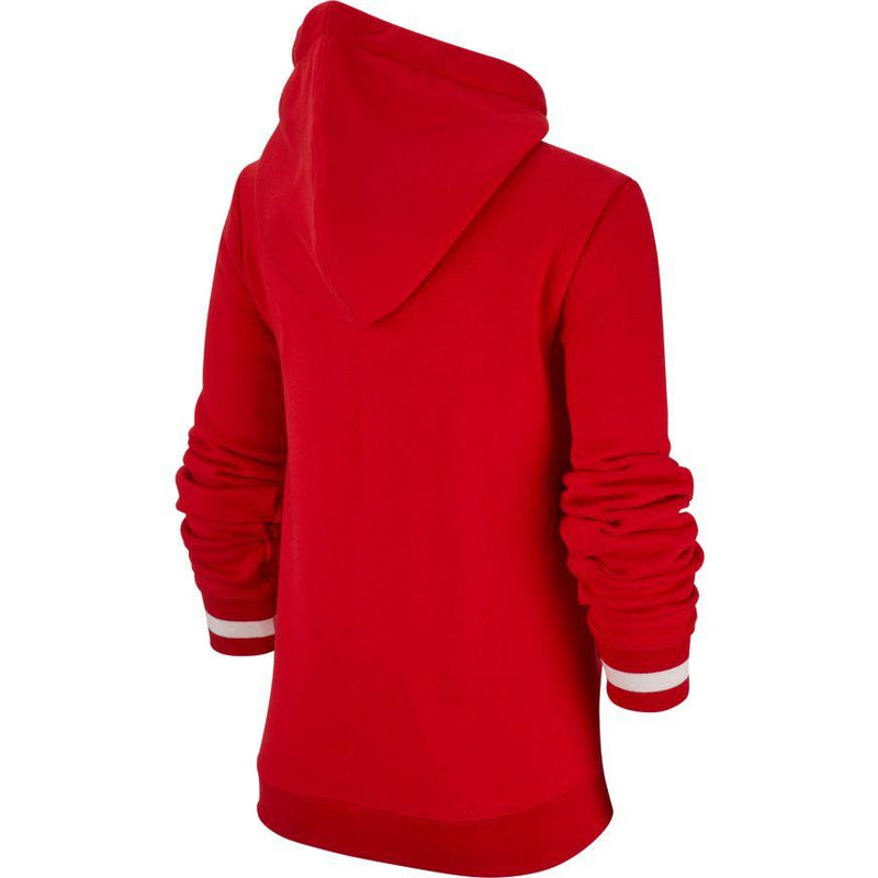 Nike Air Fleece Pullover Hoodie (Boy's) - University Red/Black-Tops- Canada Online Tennis Store Shop