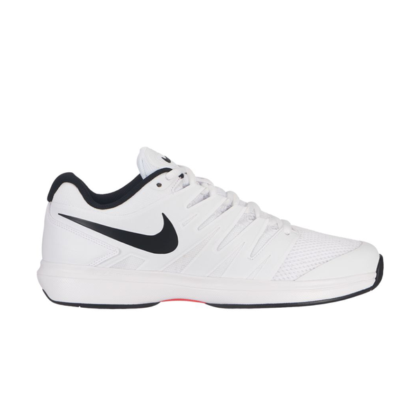Nike Air Zoom Prestige (Men's) - White/Black/Bright Crimson-Footwear- Canada Online Tennis Store Shop