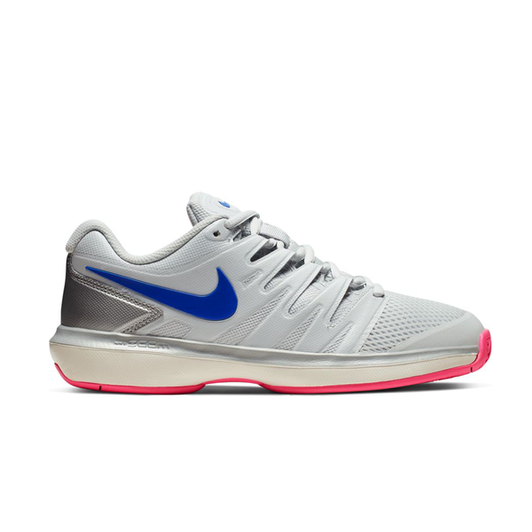 Nike Air Zoom Prestige (Women's) - Pure Platinum/Racer Blue-Footwear- Canada Online Tennis Store Shop