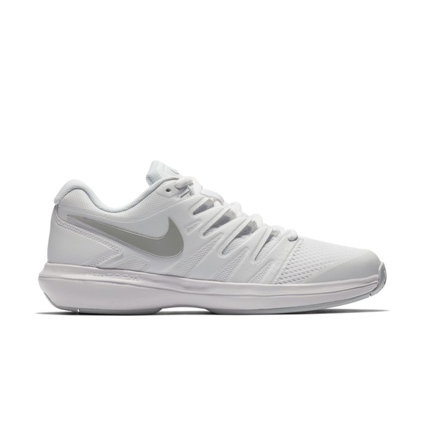 Nike Air Zoom Prestige (Women's) - White/Silver/Pure Platinum-Footwear- Canada Online Tennis Store Shop