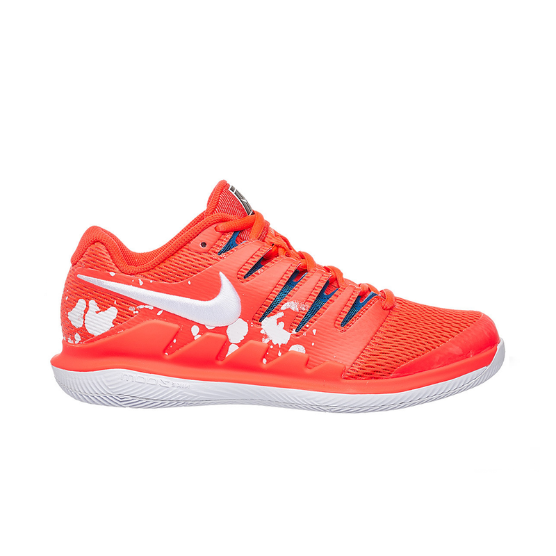 Nike Air Zoom Vapor X HC (Women's) - Bright Crimson/White (Available size: 5)-Footwear- Canada Online Tennis Store Shop