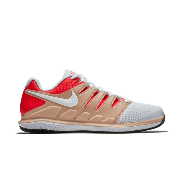 Nike Air Zoom Vapor X (Men's) - Bio Beige/White/Bright Crimson-Footwear- Canada Online Tennis Store Shop