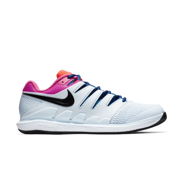 Nike Air Zoom Vapor X (Men's) - Half Blue/Black/Laser Fuchsia-Footwear- Canada Online Tennis Store Shop