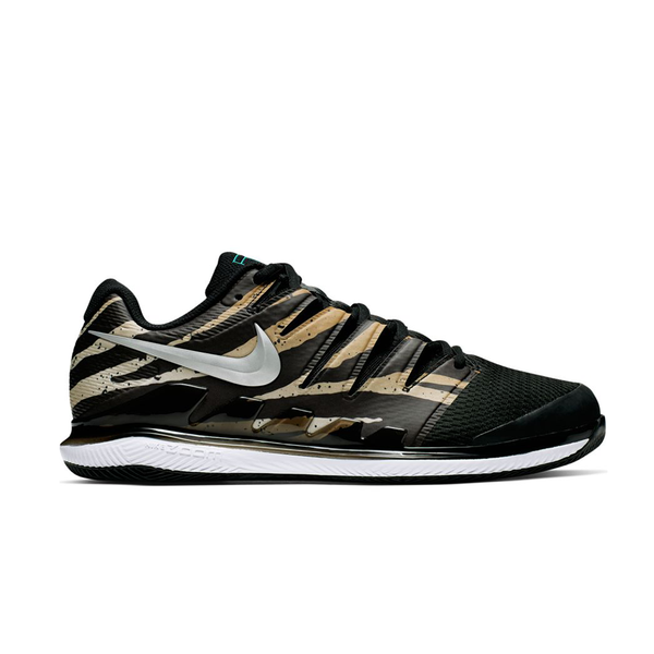 Nike Air Zoom Vapor X (Men's) - Wheat/Metallic Silver/Tiger Print-Footwear- Canada Online Tennis Store Shop