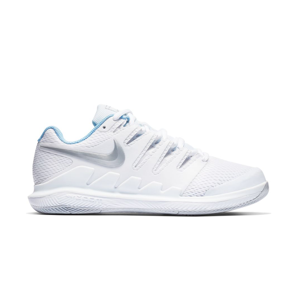Nike Air Zoom Vapor X (Women's) - White/Metallic Silver/Pure Platinum-Footwear- Canada Online Tennis Store Shop