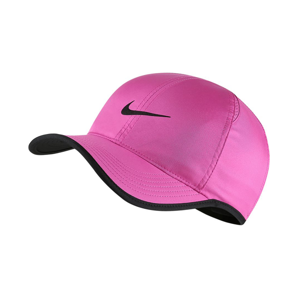 Nike Court Aerobill Featherlight Tennis Cap - Active Fuchsia/Black-Hats- Canada Online Tennis Store Shop