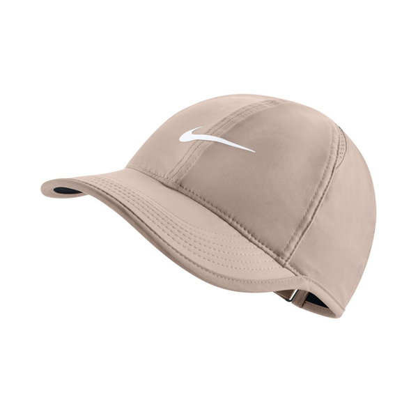 Nike Court Aerobill Featherlight Tennis Cap (Women's Fit)- Guava Ice/White-Hats- Canada Online Tennis Store Shop