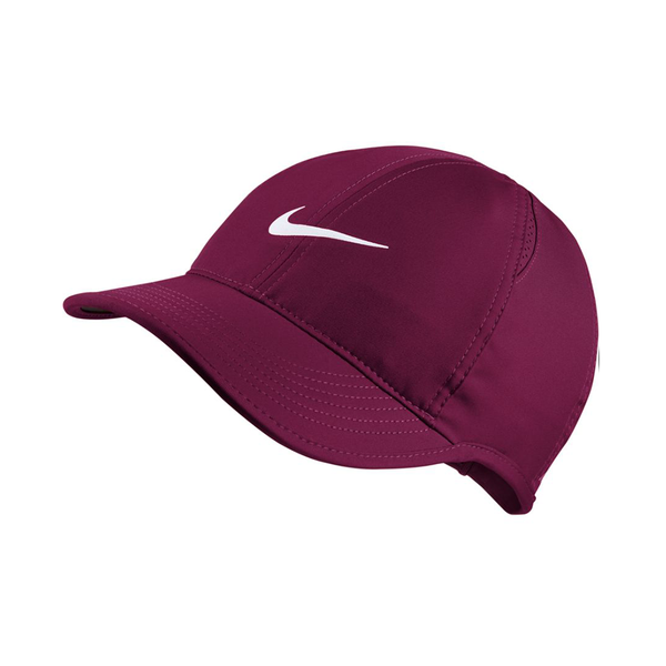 Nike Court AeroBill Featherlight Tennis Cap (Women's Fit) - True Berry-Hats- Canada Online Tennis Store Shop