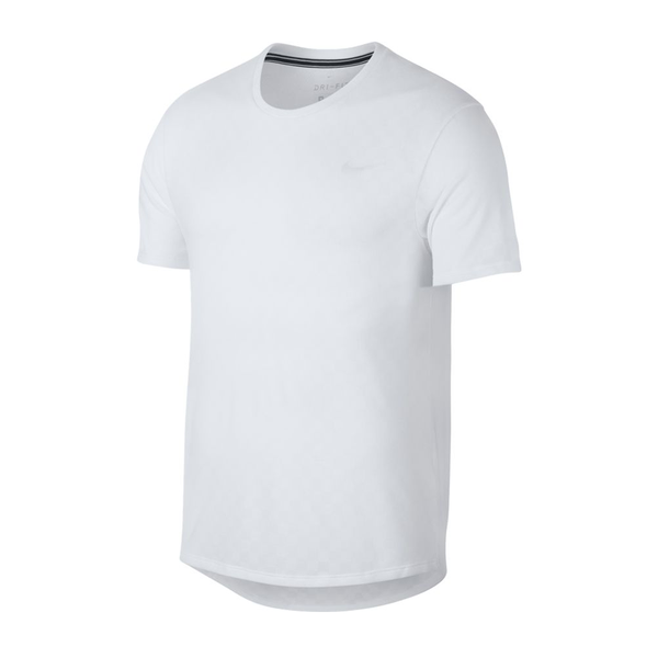 Nike Court Checkered Challenger Top (Men's) - White-Tops- Canada Online Tennis Store Shop