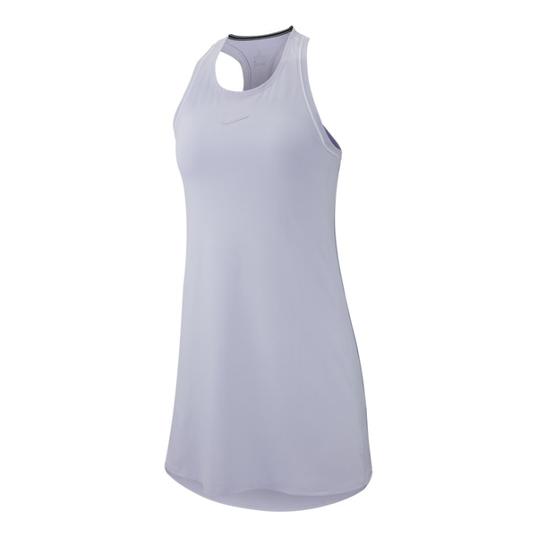Nike Court Dress (Women's) - Oxygen Purple/White-Dresses- Canada Online Tennis Store Shop