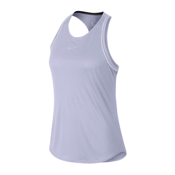 Nike Court Dri-Fit Tank (Women's) - Oxygen Purple/White-Tops- Canada Online Tennis Store Shop