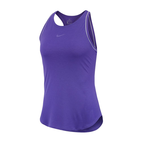 Nike Court Dri Fit Tank (Women's) - Psychic Purple-Tops- Canada Online Tennis Store Shop