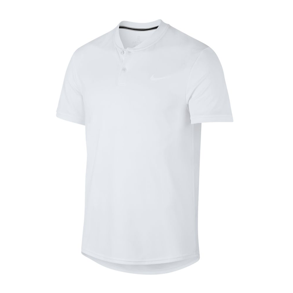 Nike Court Dry Polo (Men's) - White-Tops- Canada Online Tennis Store Shop